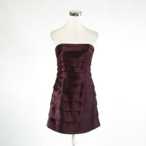 Laundry by Design purple tiered dress 2